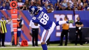 New York Giants rookie Evan Engram
